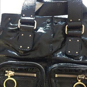 Chloe Betty Bag Black Patent Leather
